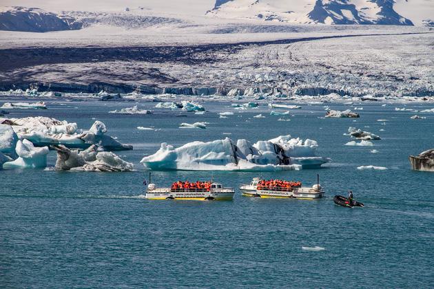 Boat Tour Jökulsárlón