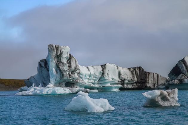 Ash Ice Lagoon
