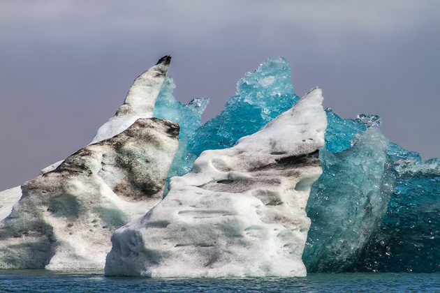 Floating Ice Berg Iceland