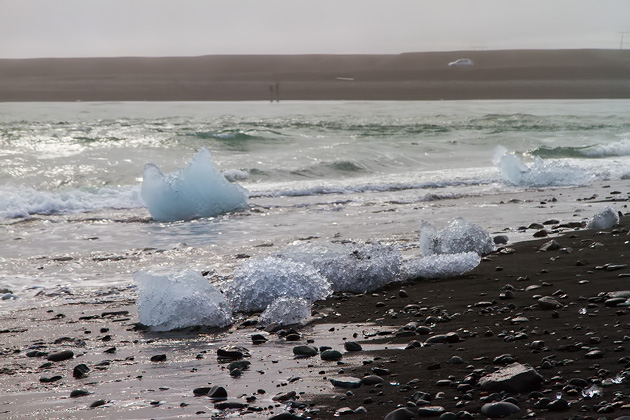 Iceland Ice Berg Beach
