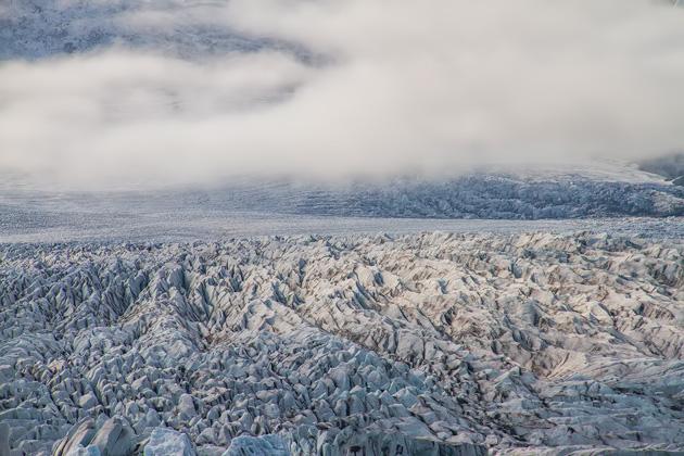 Glacier Field Iceland