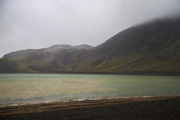Iceland Green Lake