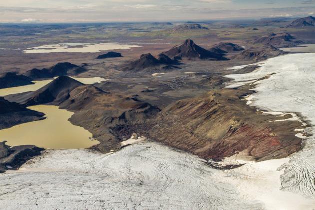 Lake Glacier Iceland