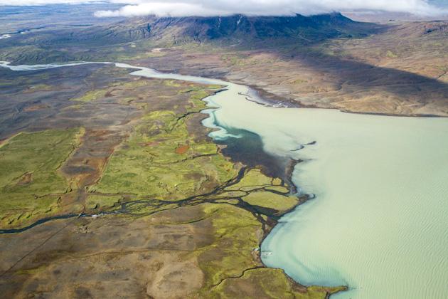 Blue Lake Iceland