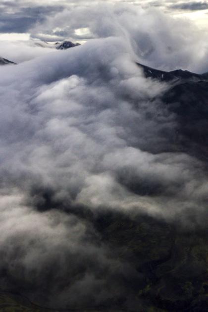 Cloud Mountain Iceland