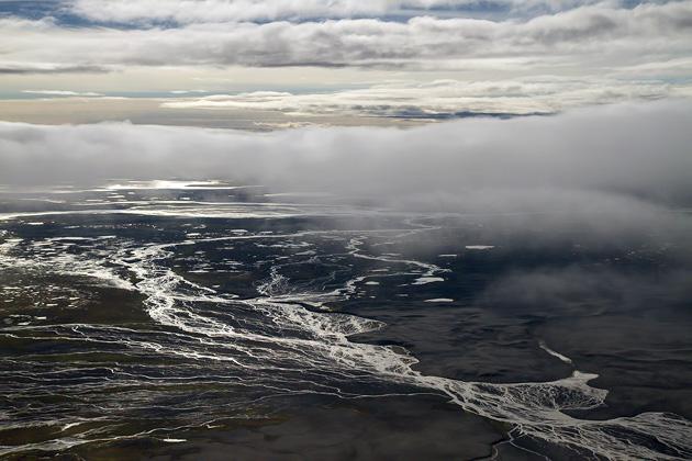 River Delta Iceland