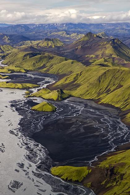 Moss Lava Bay