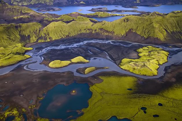 Green Little Islands