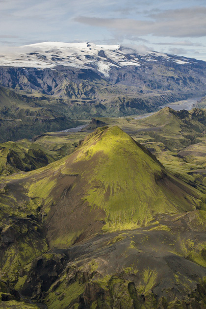 Glaciers And Volcano Iceland