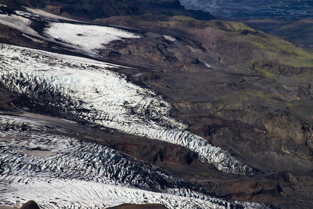 Flowing Glaciers Iceland