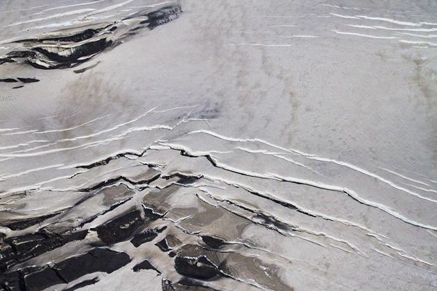 Glacier Cracks