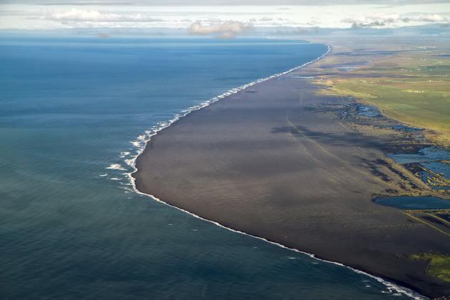 Lava Beach Iceland