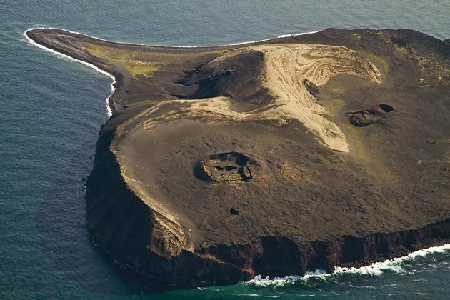 Surtsey Volcano