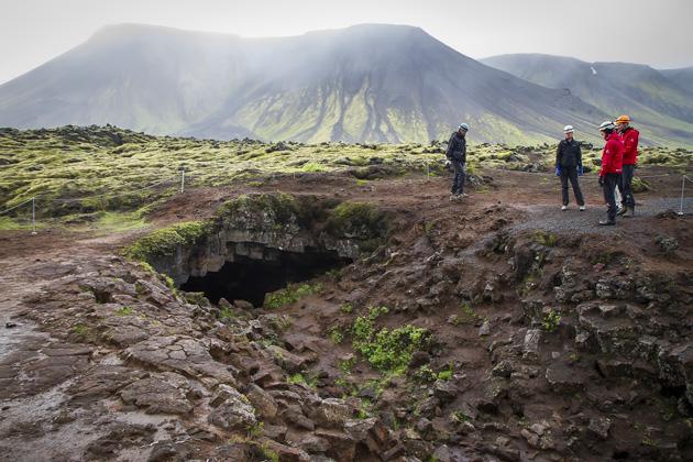 Cave Entrance Iceland