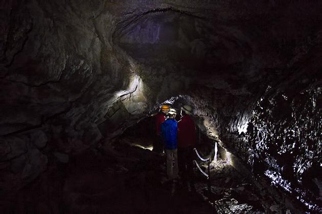 Inside Lava Tube