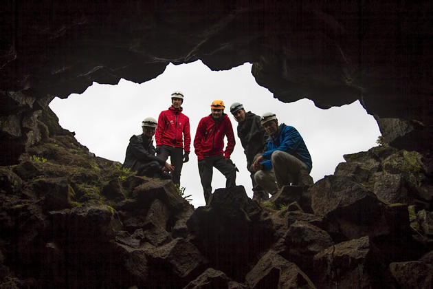 End of Lave Cave