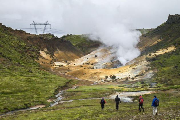 Reykjadalur Hiking Tour