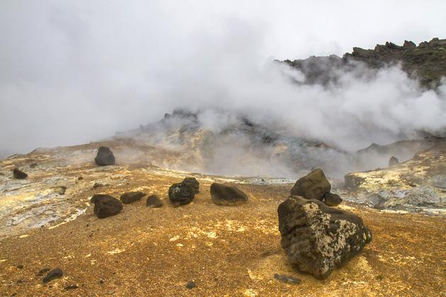 Steam Rock Iceland