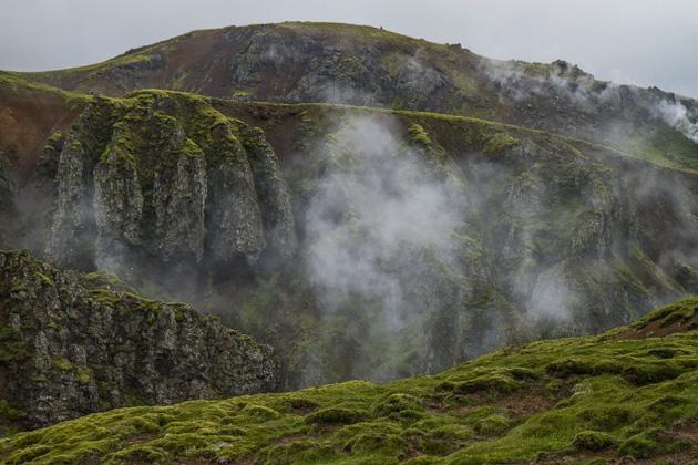 Steam Valley Iceland