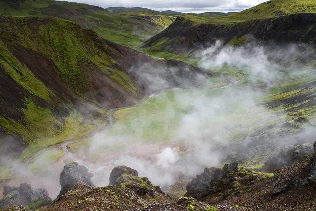 Iceland Steam Valley