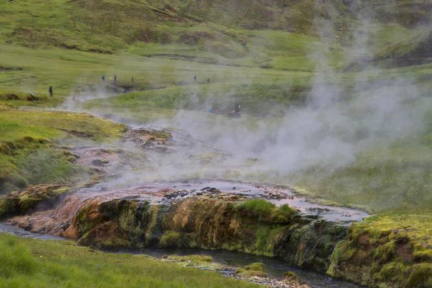 Reykjadalur Iceland Travel Blog