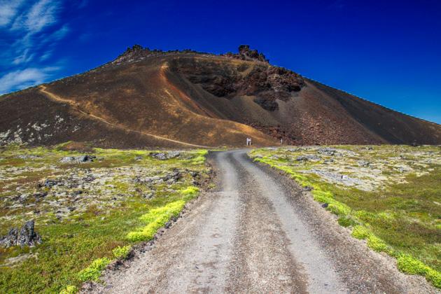 Saxhóll Volcano Vulkan Iceland