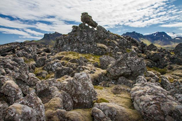 Neshraun Lava Field Iceland
