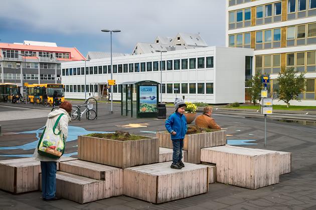 Bus Stop Reykjavik