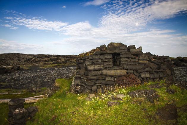Stone Houses Iceland