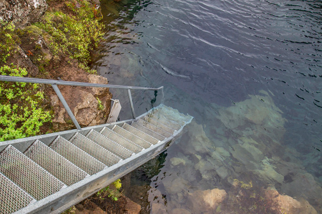 Silfra Fissure Stairs