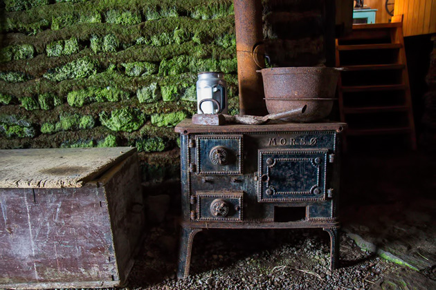 Old Icelandic Kitchen