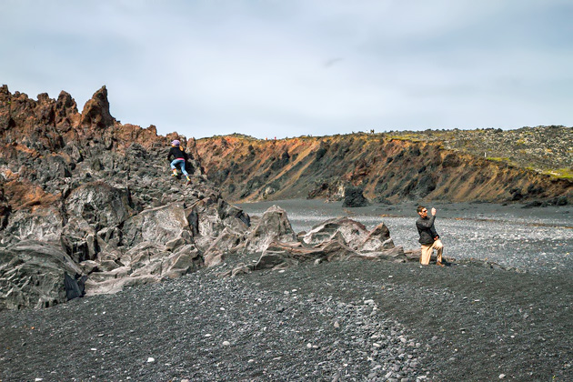 Djúpalónssandur Island