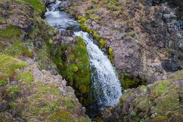 Arnastapi Tiny Waterfall