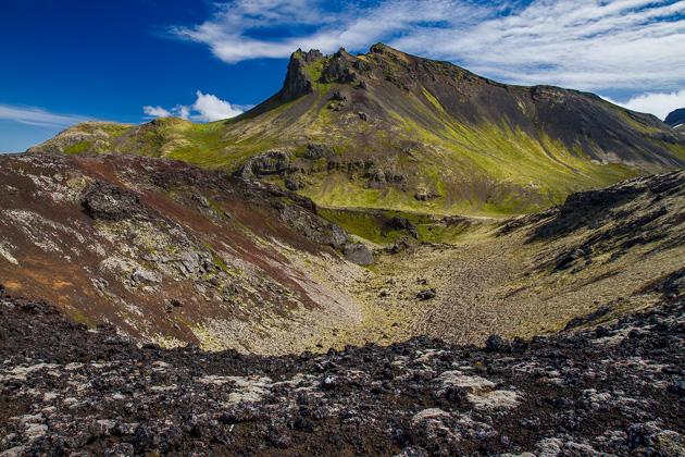Rauðholl Volcano