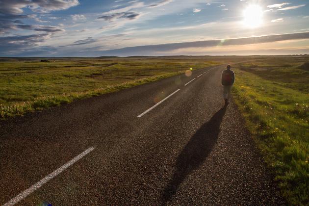 Hitchhiking Iceland