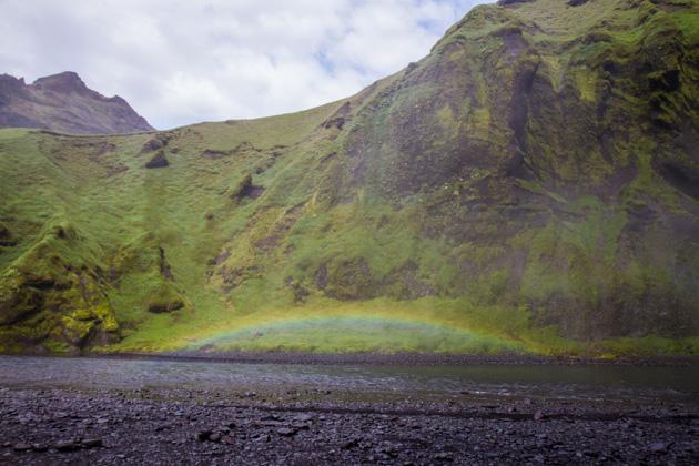 Skógarfoss Rainbow