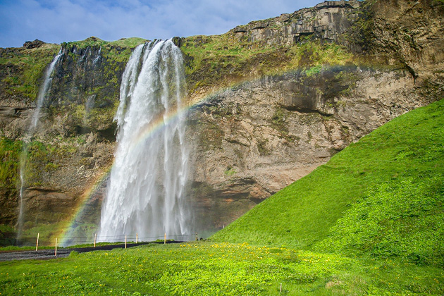 Seljalandsfoss Rainbow