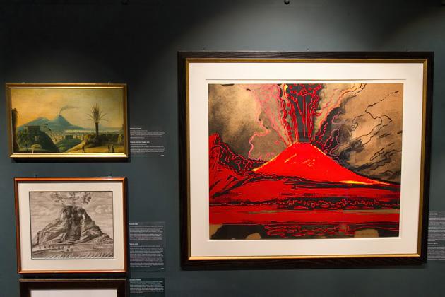 Andy Warhol painting of Vesuvius