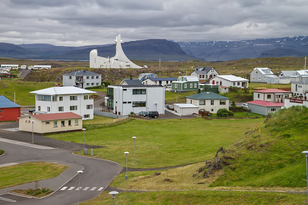 Modern Church Iceland