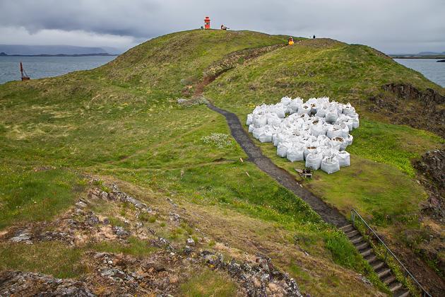 White Sacks Iceland