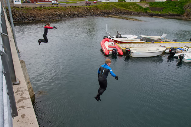Divers Iceland