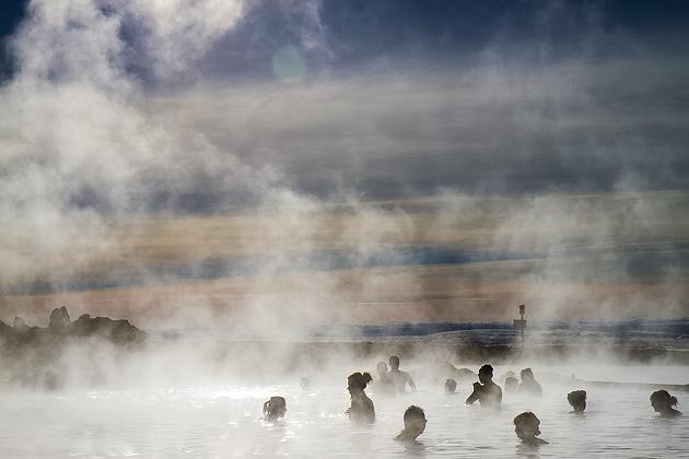 The Jarðböðin Lagoon