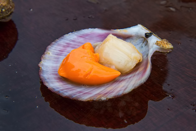 Scallop Sushi Iceland