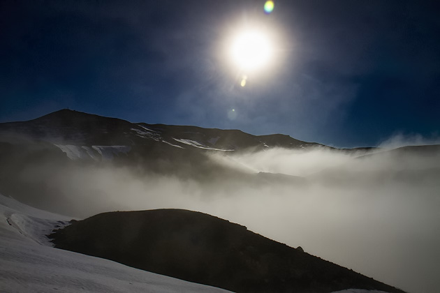 Fog Landscape Iceland