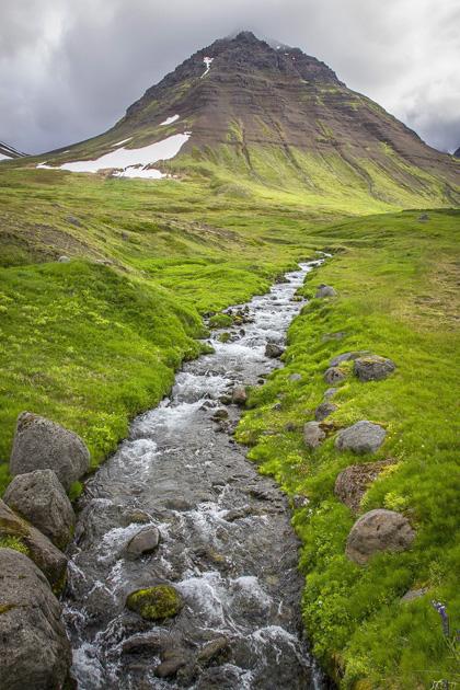 Flateyri Mountain River