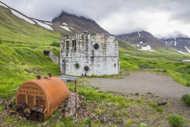 Strange House IN Iceland