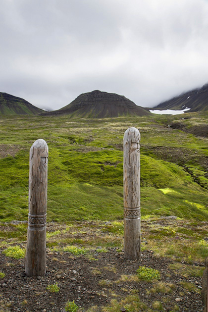 Saga Poles Iceland