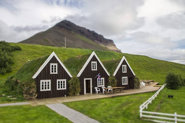 Hrafnseyri Houses