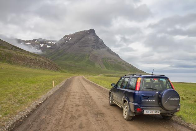 Rental Car West Fjords