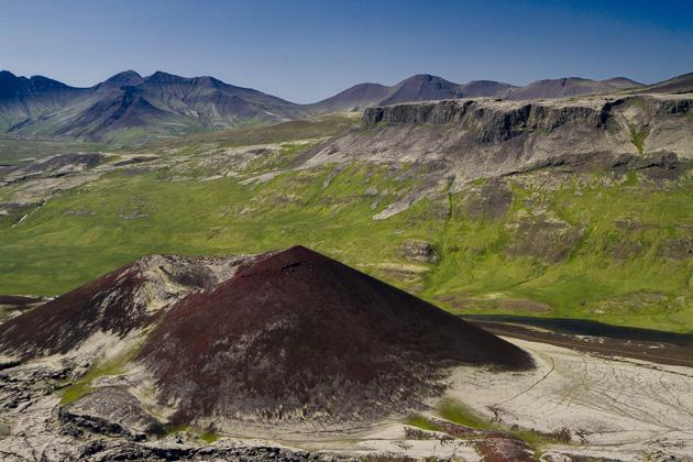 Volcano Landscape Iceland